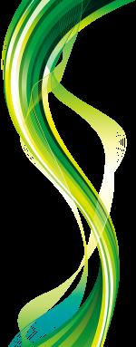 green-vertical-wave